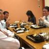 東京東信用金庫の理事長と会食