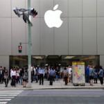 銀座アップルストアで「iPhone6/6Plus」を見学