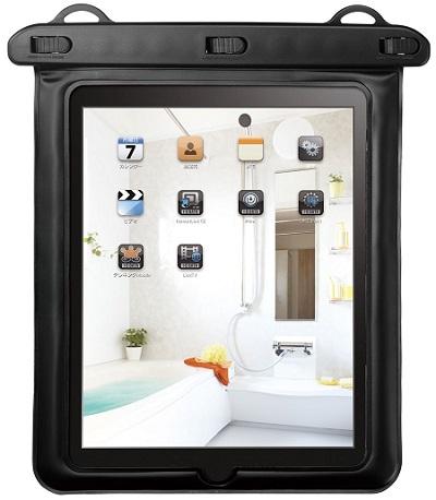 I-O DATA IPX8準拠 iPad・10インチタブレット用防水ケース
