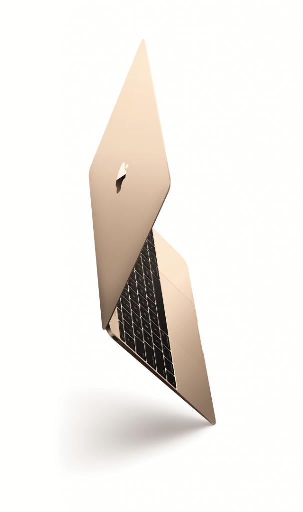 MacBookゴールド
