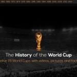 過去のワールドカップを映像で振り返るサイト