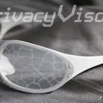 顔認識防止メガネ。未来がどんどん近づいてくる